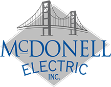 McDonell Electric Retina Logo
