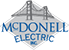 McDonell Electric Mobile Retina Logo